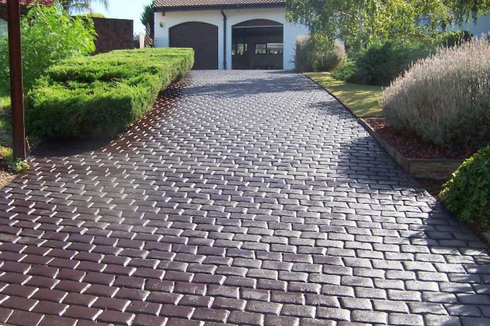 Cobble Finish – Stamped Concrete